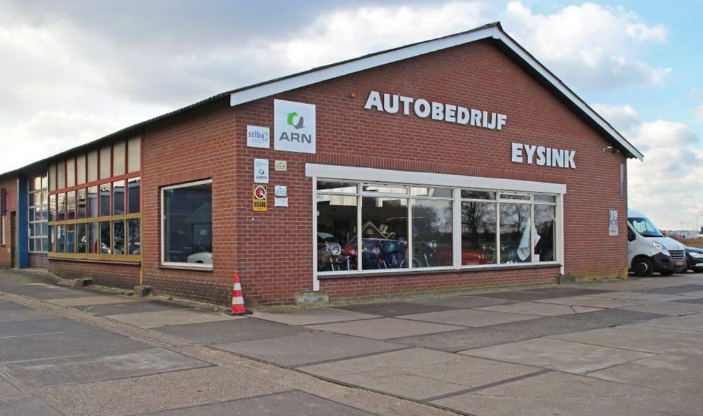 Autobedrijf Eysink showroom